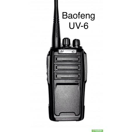 Baofeng UV-6 рация 8 ватт двухдиапазонная с гарнитурой