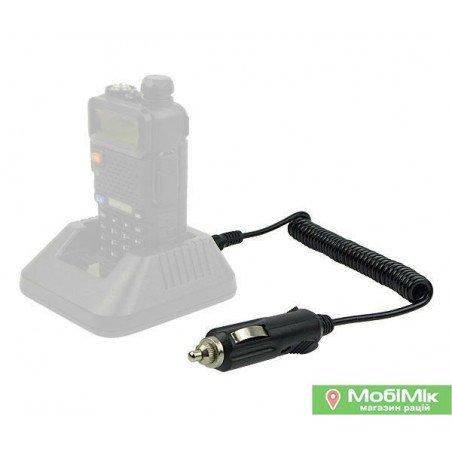 Автомобільний зарядний пристрій для радіостанцій Baofeng / Pofung